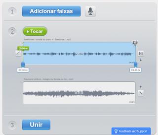 3 União de áudio online - Definições e Ajustes
