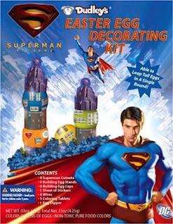 Click here to purchase Superman Returns Easter Egg Decorating Kit at Amazon!