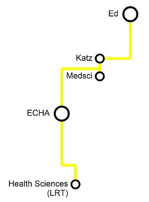 The Katz Line Pedway Map - UAlberta