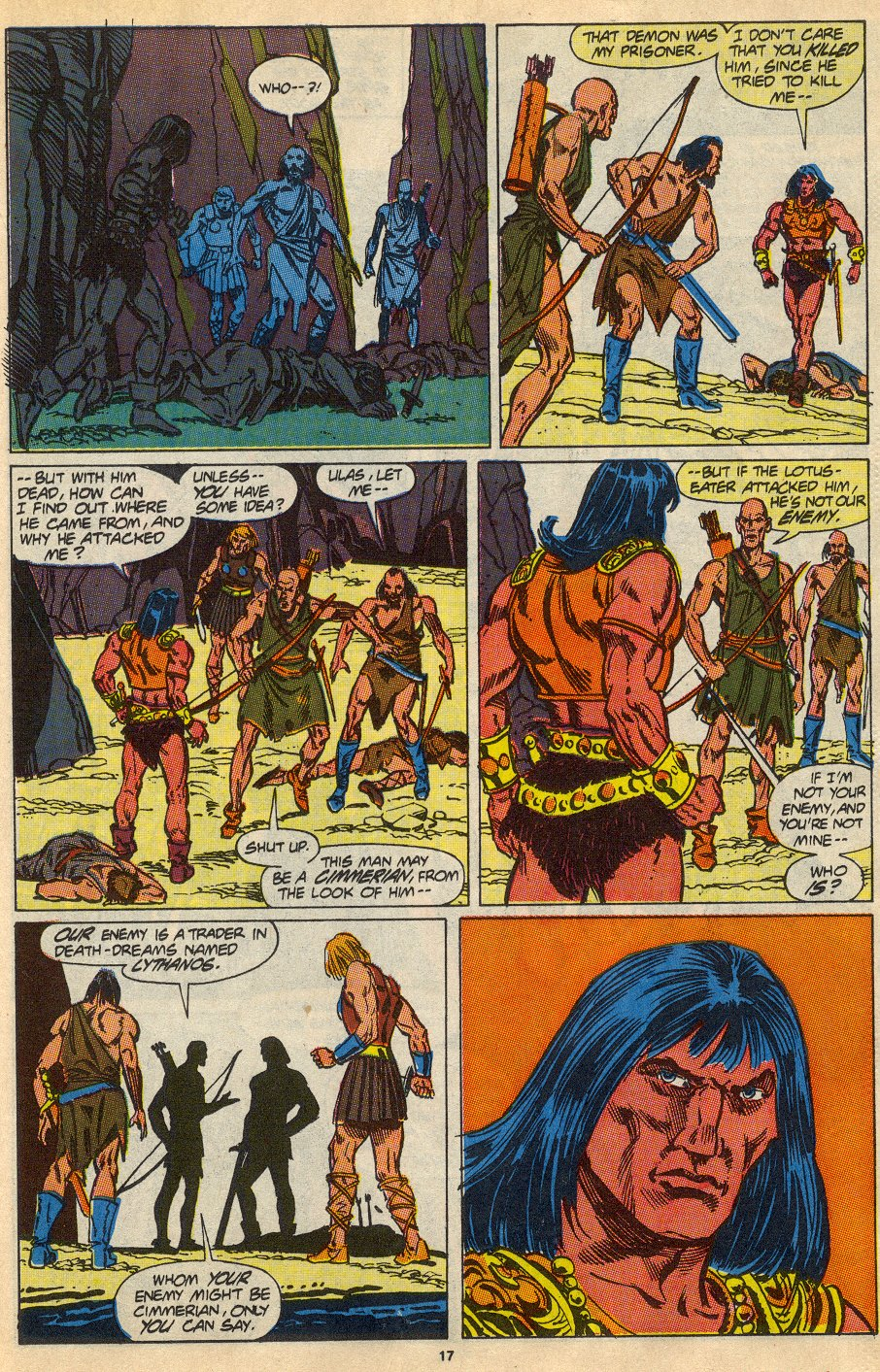 Conan the Barbarian (1970) Issue #230 #242 - English 14