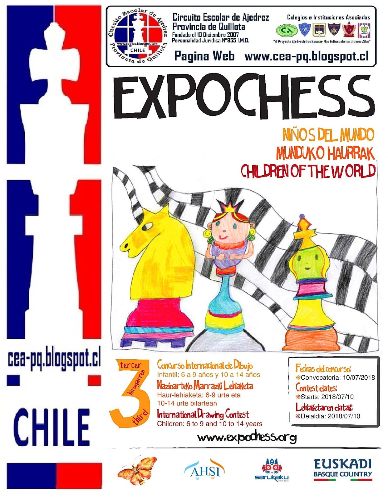 EXPOCHESS NIÑOS EN EL MUNDO
