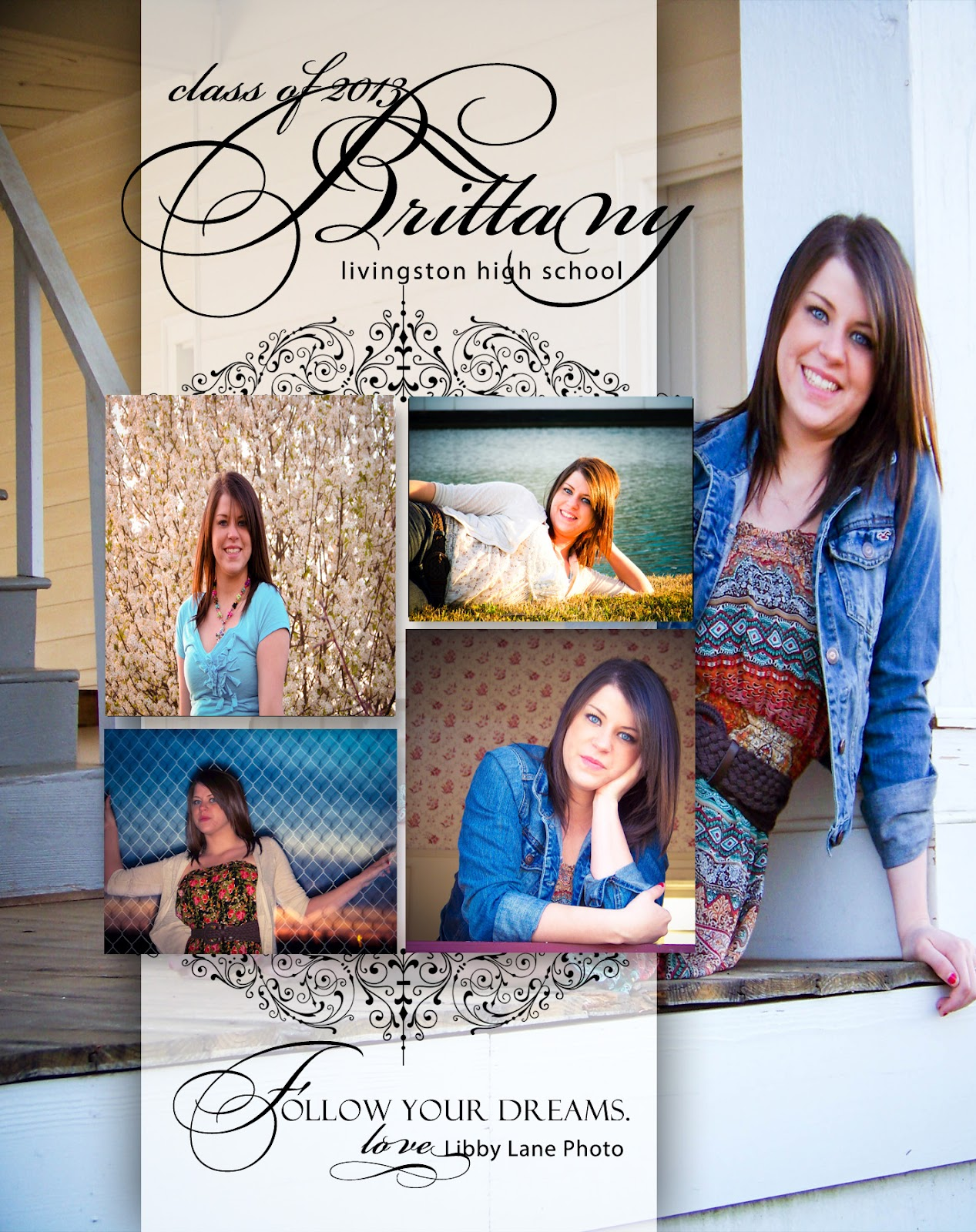 Libby Lane Photography: Free Digital File for Senior Yearbook Ads...