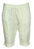 Pantaloni scurti Pull and Bear Mayno White (Pull and Bear)