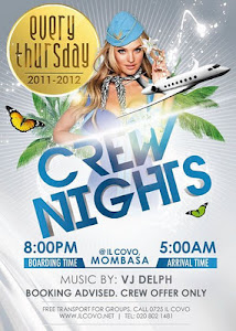 CREW NIGHTS NOW AT IL COVO
