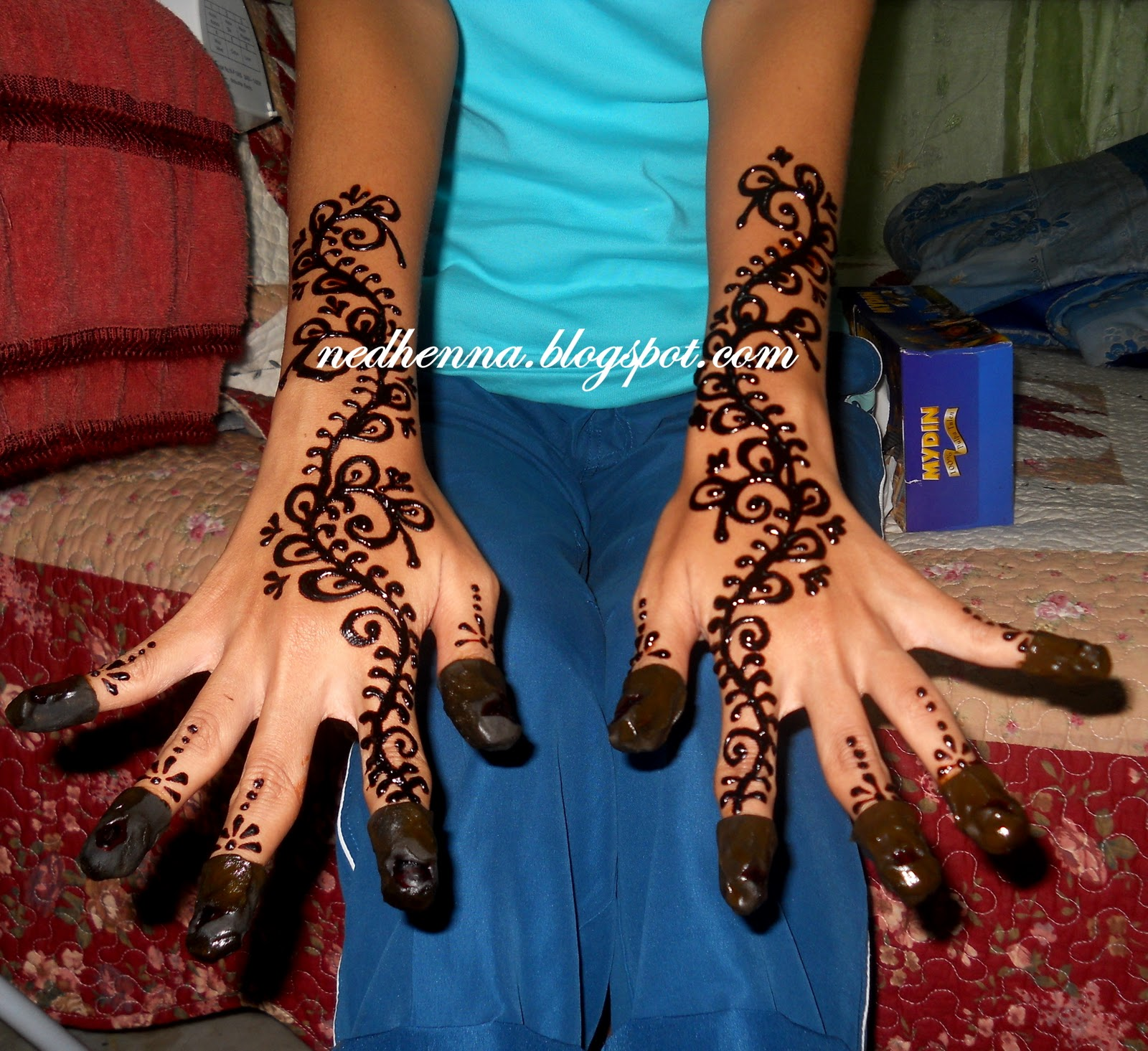 Ned Henna Berinai Nini Wedding Belah Lelaki