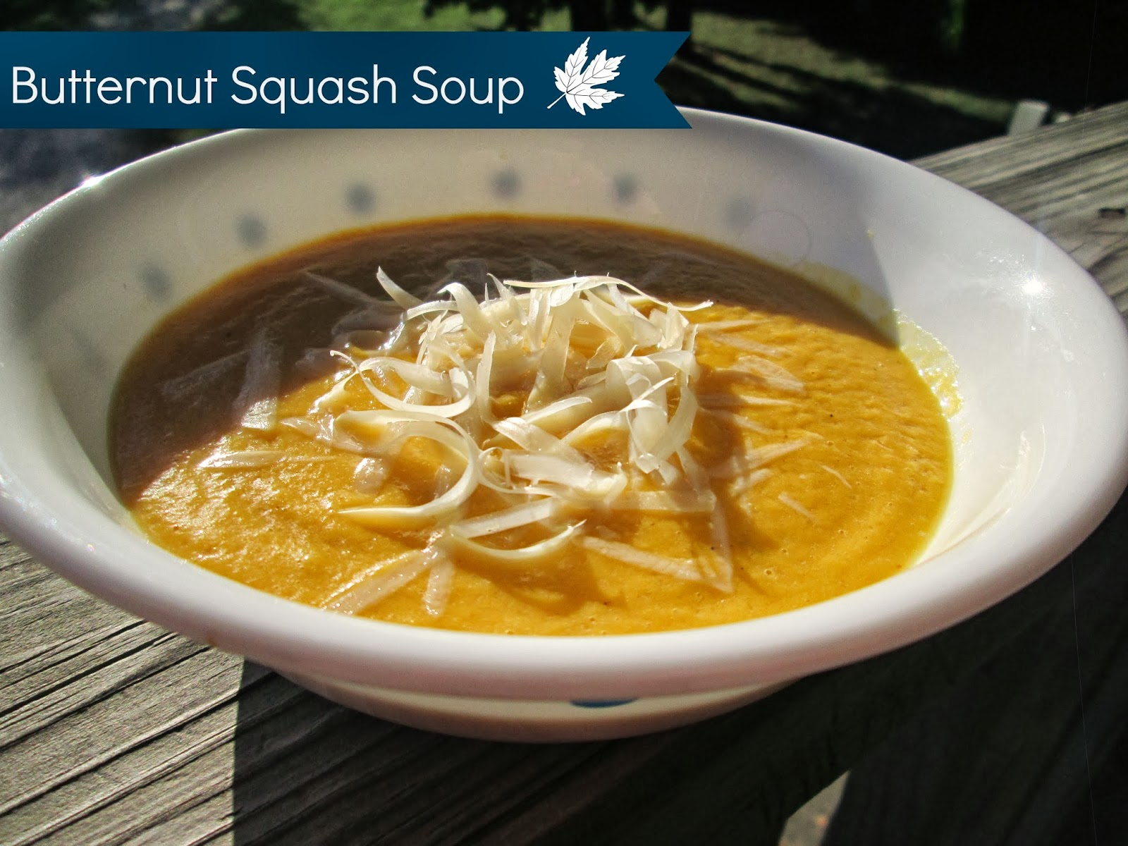 THE REHOMESTEADERS: Butternut Squash Soup