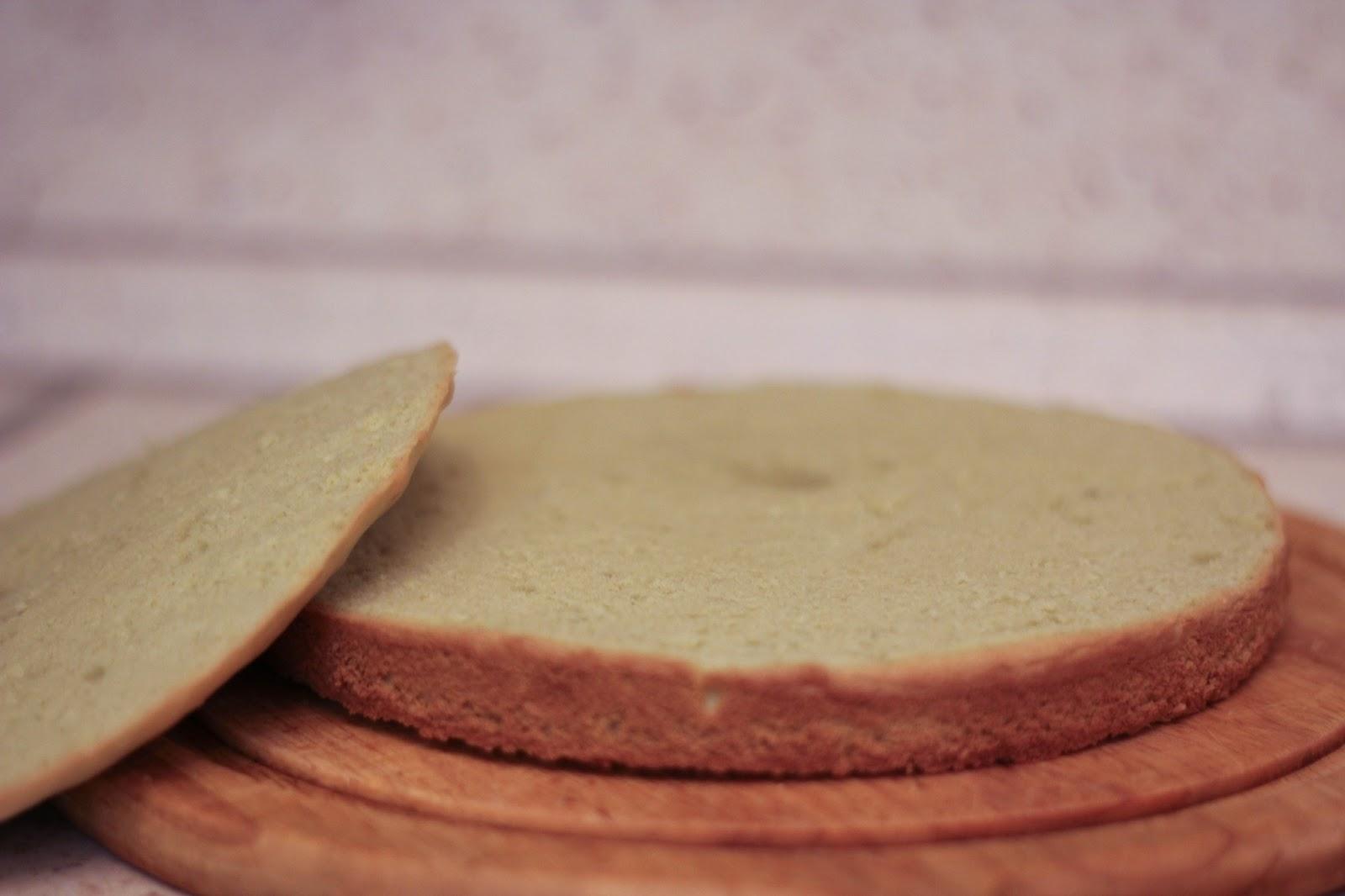 Фисташковый бисквит с пастой