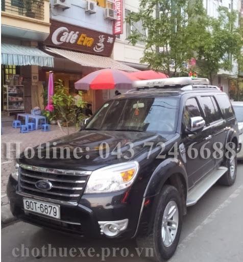 Cho thuê xe 7 chỗ Ford Everest tại Hà Nội
