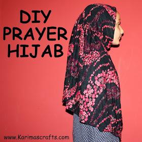 praying hijab tutorial diy islamic
