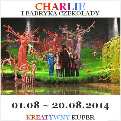 Bransoletka na Wyzwanie Tematyczne – Film: Charlie i Fabryka Czekolady