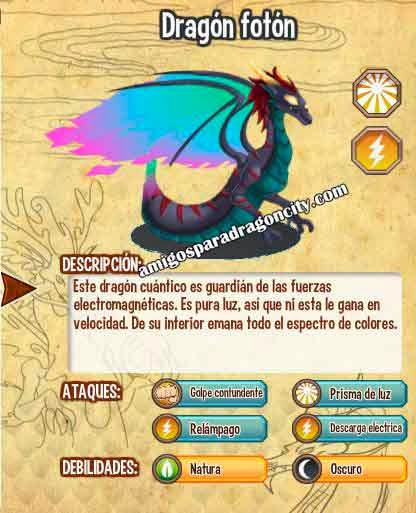 imagen del dragon photon dragon y sus caracteristicas