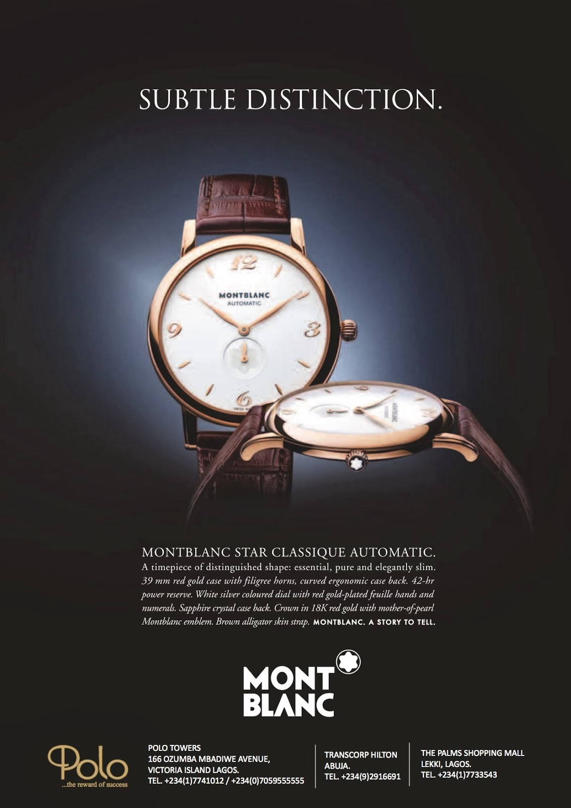 MONT BLANC STAR CLASSIQUE AUTOMATIC