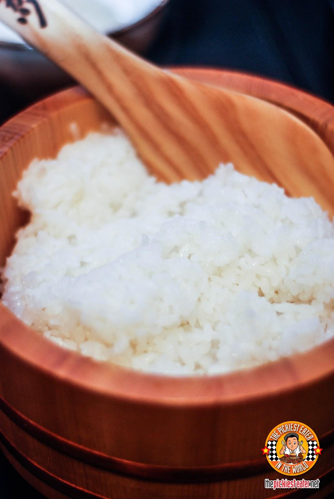 Kohishikari rice