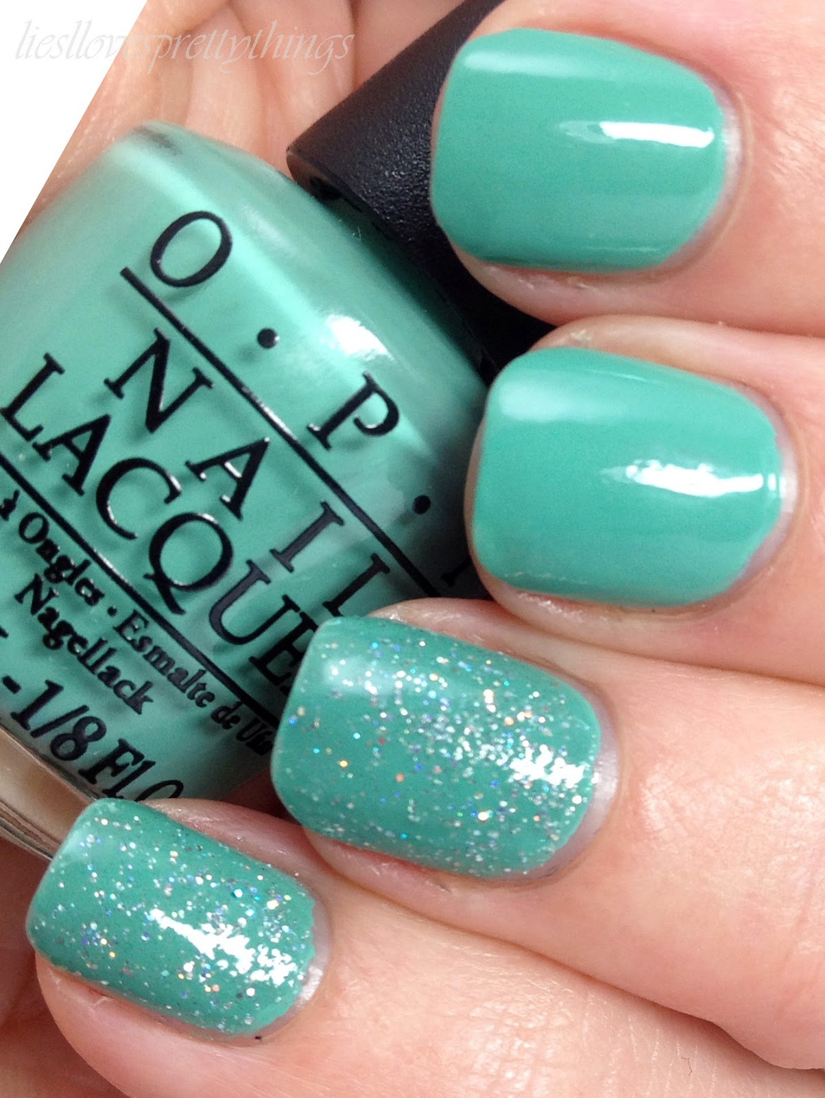 OPI My Dogsled Is a Hybrid + OPI My Voice Is a Little Norse swatch and review