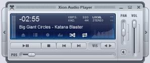 برنامج Xion Audio Player لتشغيل جميع الصيغ الصوتية