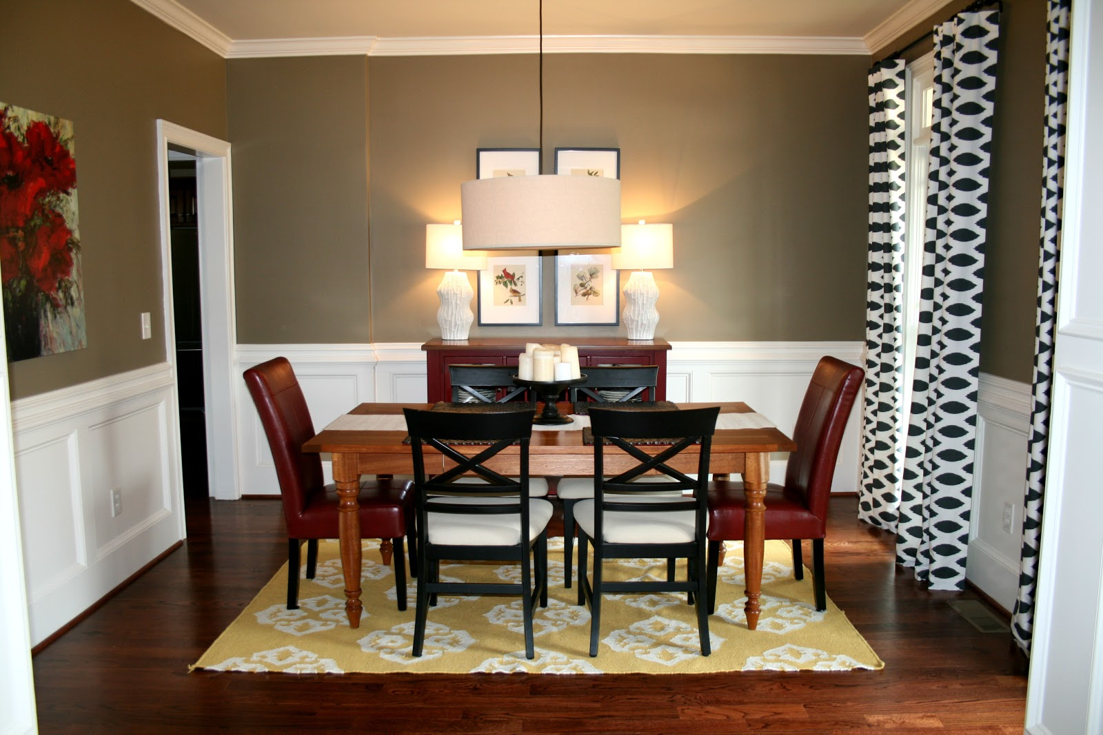 The bozeman bungalow dining room updates for Dining room art