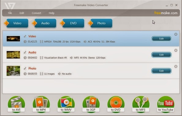 Download Freemake Video Converter 4.1.3.7 ~ Downloadsangar