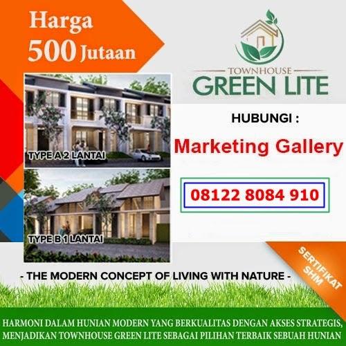 Town House Green Lite Sawangan