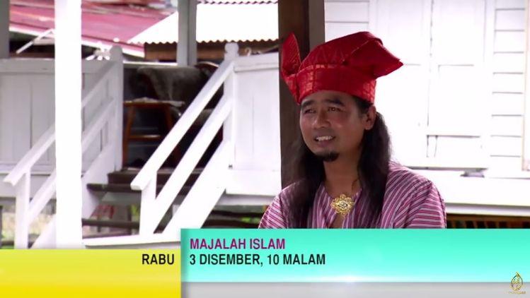 Di Tv Al Hijrah (Page FB Kronikel Tanjak Melayu & Gentala Sari)