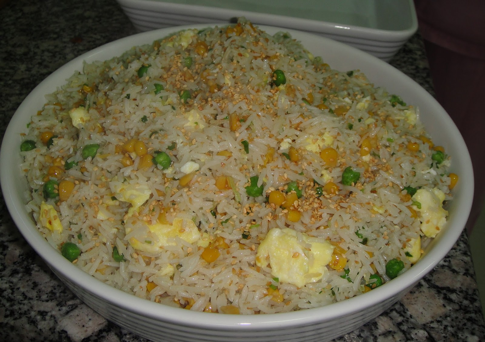 Maryam's Culinary Wonders: 227. Chinese Egg Fried Rice