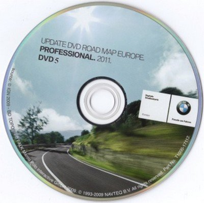 bmw road map