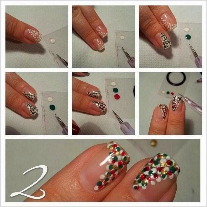 Рисунки на ногти в домашних условиях для начинающих простые