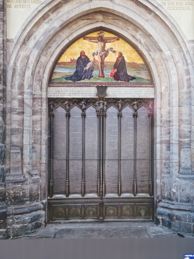 luther thesis 1 Martin luther nails the 95 theses to the door of the church at wittenberg source: wikimedia we use the date 1517 to mark the onset of the reformation.