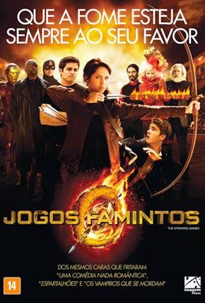Capa/cartaz/pôster nacional de JOGOS FAMINTOS (The Starving Games)