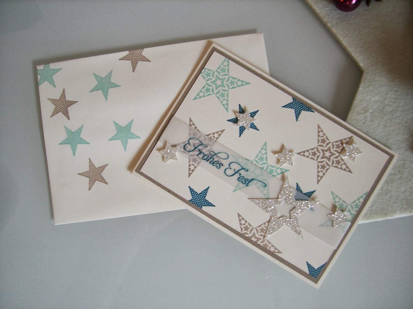 Simply Stars, modern, Pergament