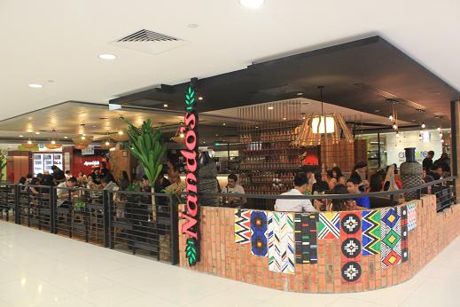 Nando's premises at Plaza Singapura