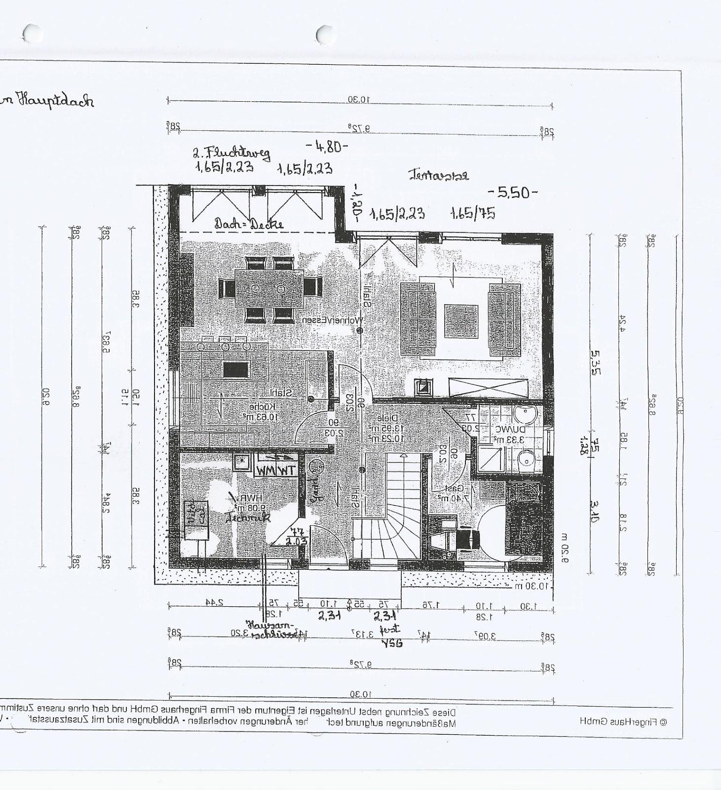 Fingerhaus neo 311  Unser Bautagebuch: Architektengespräch