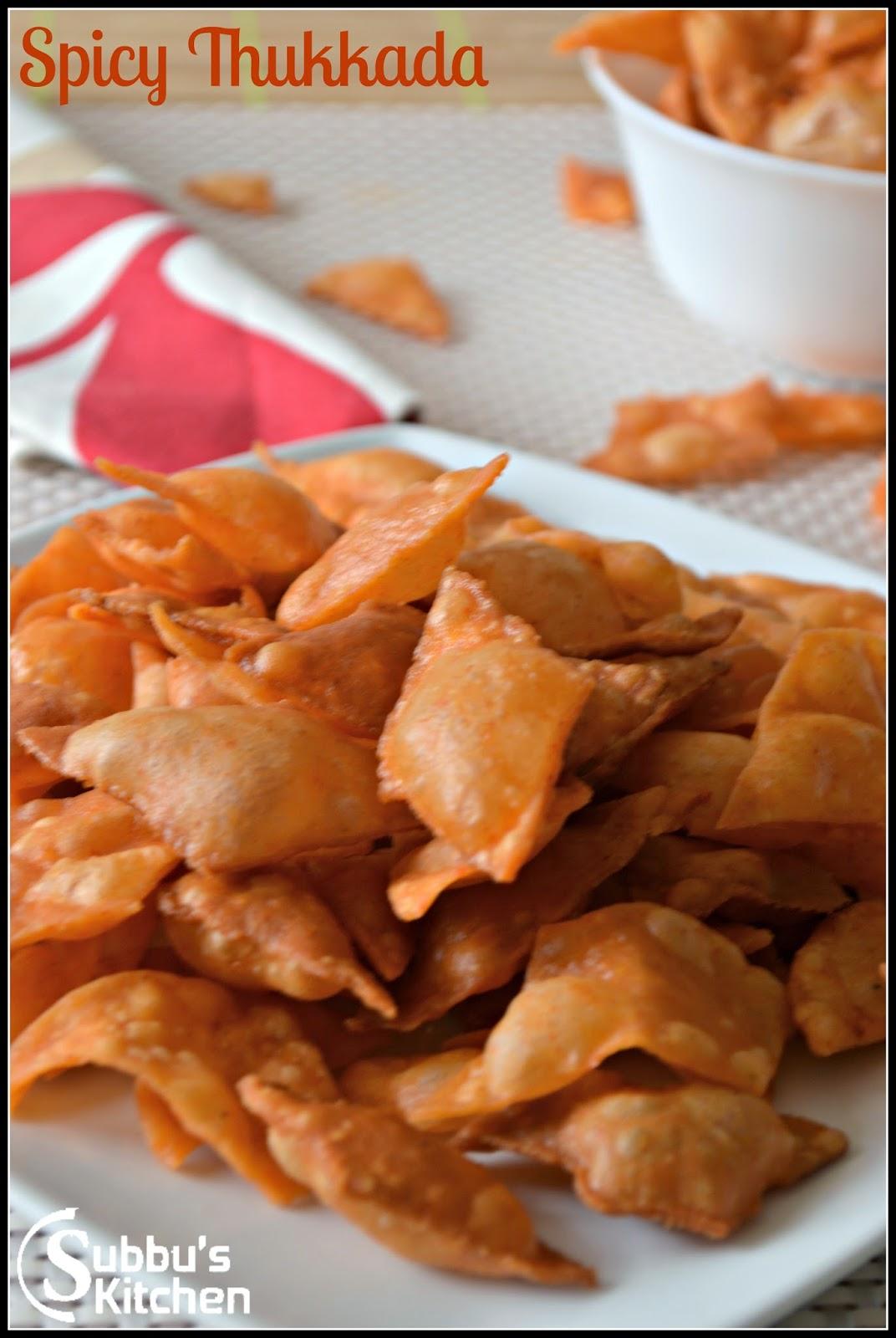 Thukkada (Spicy Thukkada)