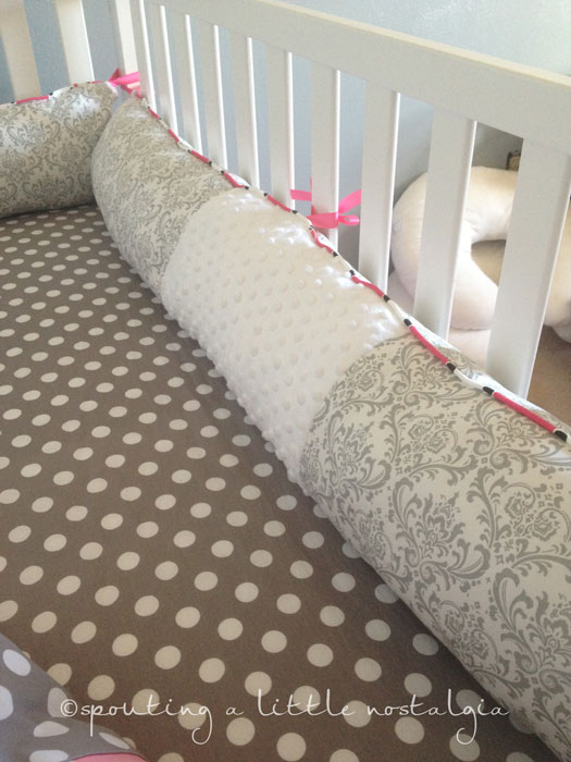 how much fabric for crib bedding 3