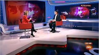 Ana Ibáñez entrevista a presidente de Ecuador Rafael Correa