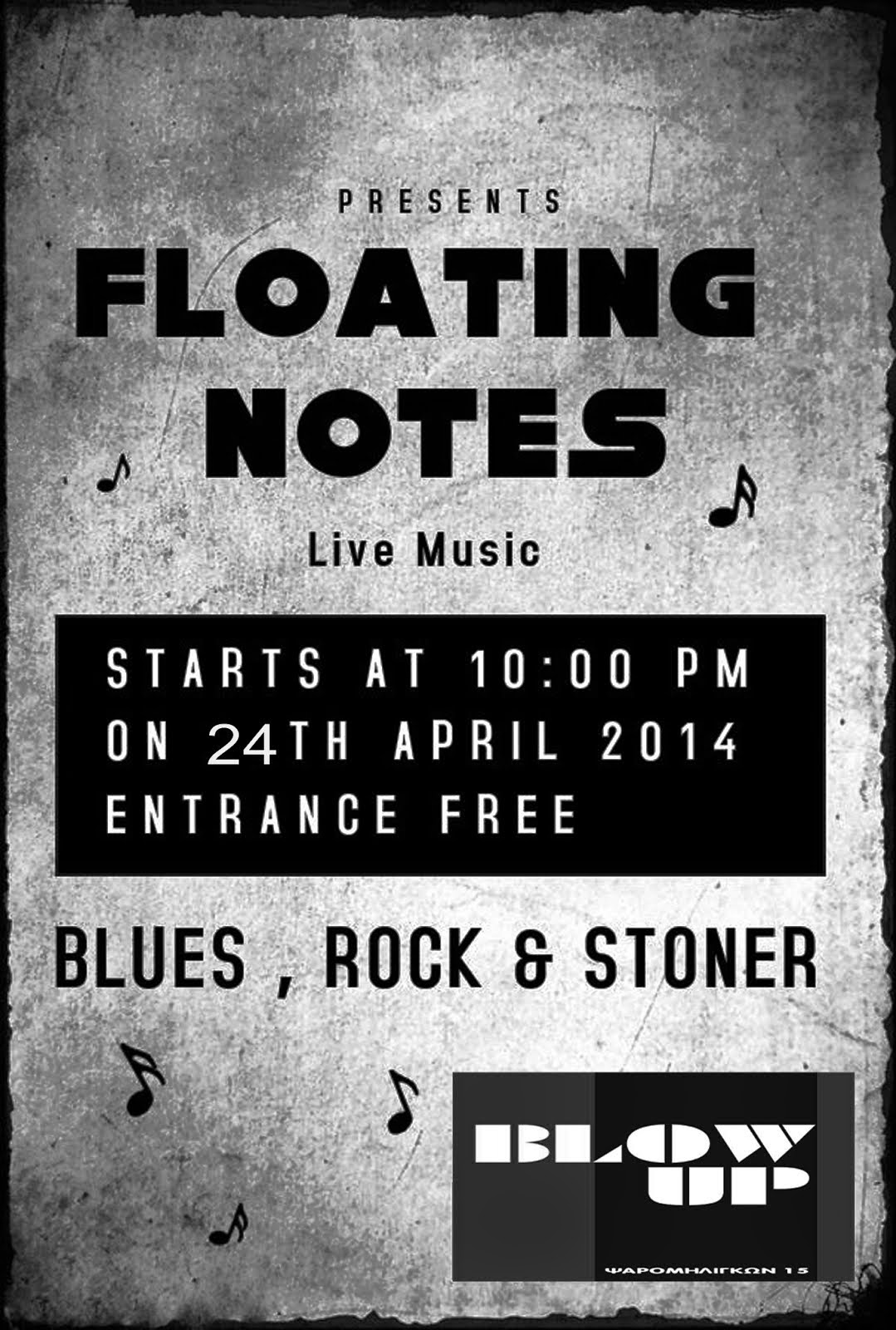 the floating notes