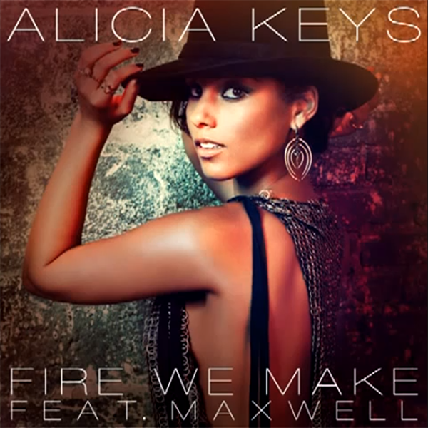 Alicia Keys Fire We Make 2013
