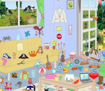 Find the Hidden Objects in the Picture Free