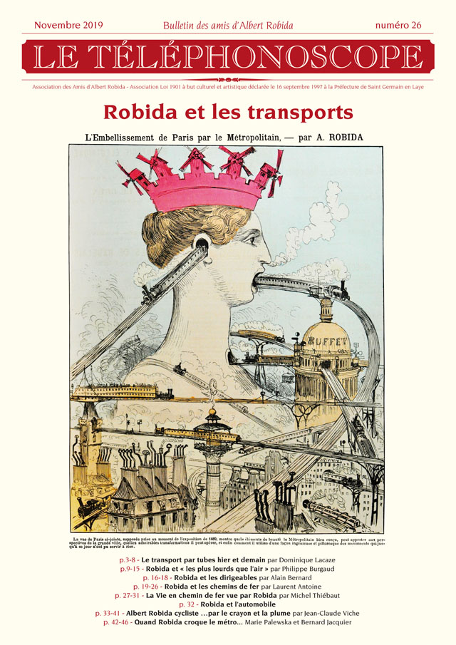 n°26 - Robida et les transports