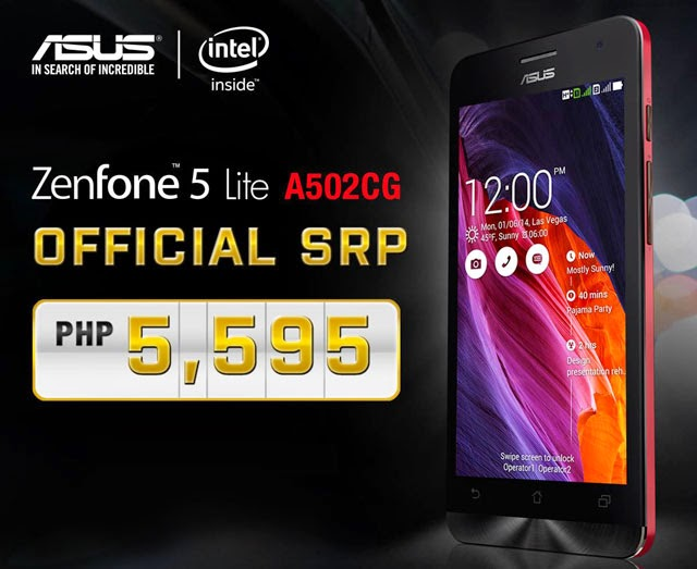 Asus Zenfone 5 Lite Officially Priced PHP5595 In The