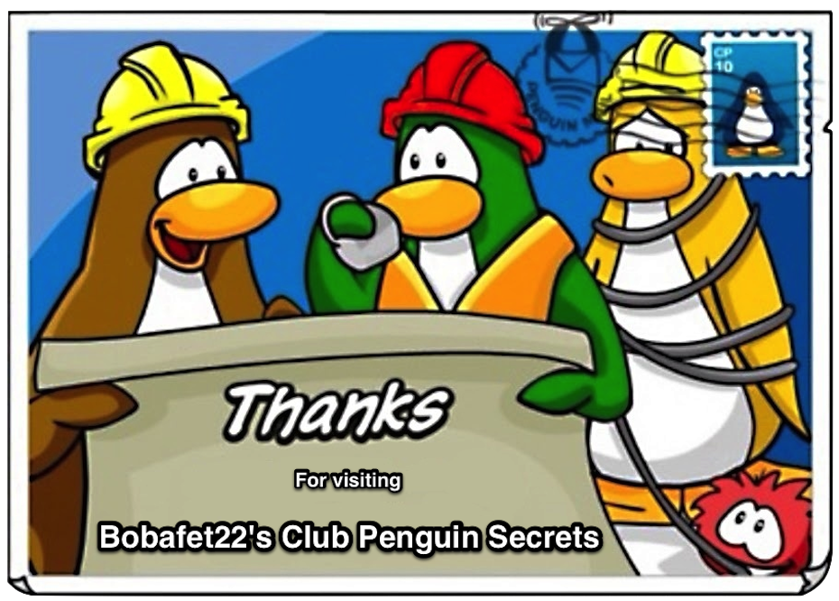 Bobafet22's Club Penguin Secrets