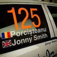 Vali Porcisteanu face echipaj cu Jonny Smith