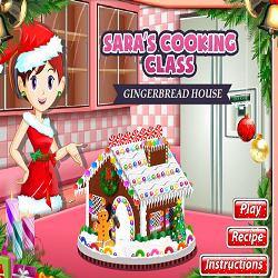 Gingerbread House @ Sara's Cooking Class