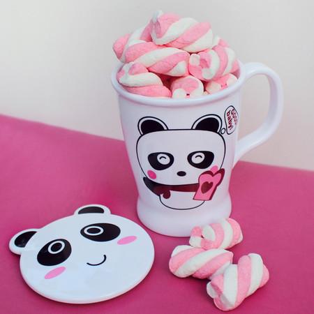 Panda com tampa