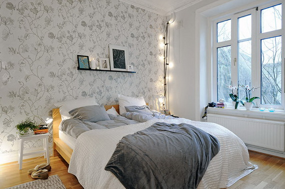 Ideas en polvo decoraci n para todos los bolsillos for Dormitorios empapelados y pintados