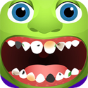 Monster Dentist App iTunes App Icon Logo By Ninjafish Studios - FreeApps.ws