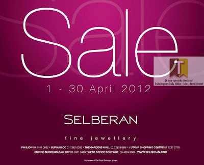 Selberan Sale END 30 APRIL 2012