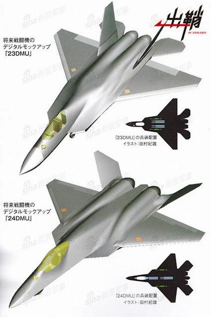"""Caza """"stealth"""" Japón va a volar dentro de 5 años.  23-y-24DMU"""