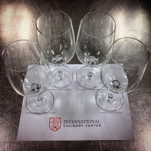Glasses for Dessert Wine Tasting