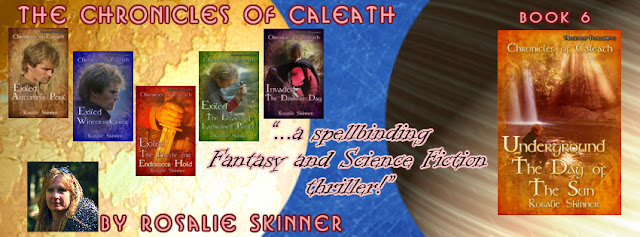 Release banner for Book Six in the Chronicles.