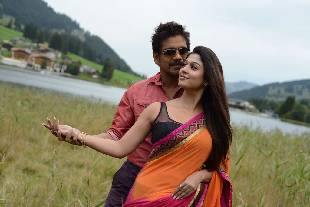Nayanthara and Nagarjun in Love Story Photos